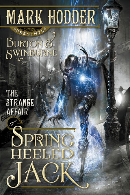 Burton & Swinburne in The Strange Affair of Spring-Heeled Jack